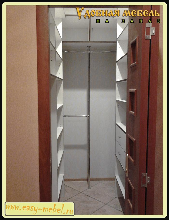 Как я сделал гардеробную в хрущевке 965